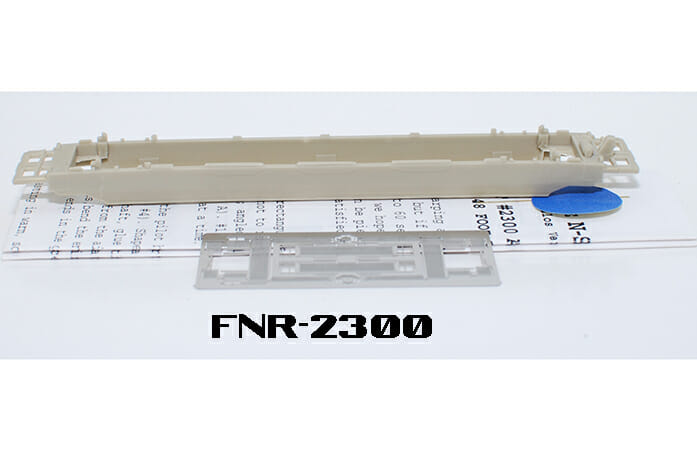 N Scale - Fine N-Scale Products - FNR-2300 - 48ft Smooth Side Well Car - Undecorated - undecorated