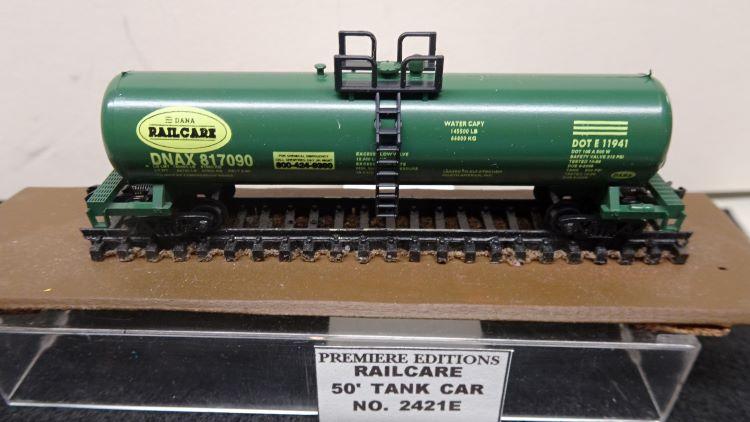 N Scale - The Freight Yard - 2421 E - Tank Car, Single Dome, 50 Foot - Dana Railcare - 817090