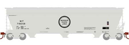 N Scale - Athearn - 12935 - Covered Hopper, 3-Bay, ACF 4600 - Missouri Pacific - 718259