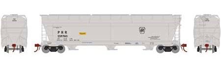 N Scale - Athearn - 7877 - Covered Hopper, 3-Bay, ACF 4600 - Pennsylvania - 259780