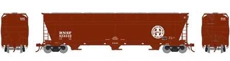 N Scale - Athearn - 6968 - Covered Hopper, 3-Bay, ACF 4600 - Burlington Northern Santa Fe - 423330