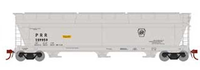 N Scale - Athearn - 7879 - Covered Hopper, 3-Bay, ACF 4600 - Pennsylvania - 259959