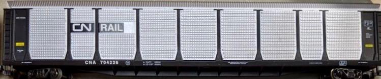 N Scale - Con-Cor - 0001-603016(02) - Autorack, Enclosed, Bi-Level - Canadian National - 704226