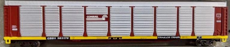 N Scale - Con-Cor - 0001-603001(03) - Autorack, Enclosed, Bi-Level - Conrail - 903178