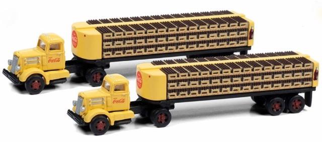 N Scale - Classic Metal Works - 51199 - Truck, White WC22 - Coca-Cola