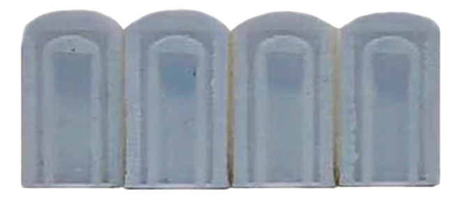 N Scale - Herpa - 005507 - Porta Potty - Scenery