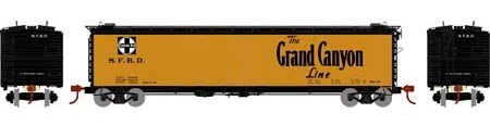 N Scale - Athearn - 2370 - Reefer, 50 Foot, RR-30 - Santa Fe - None