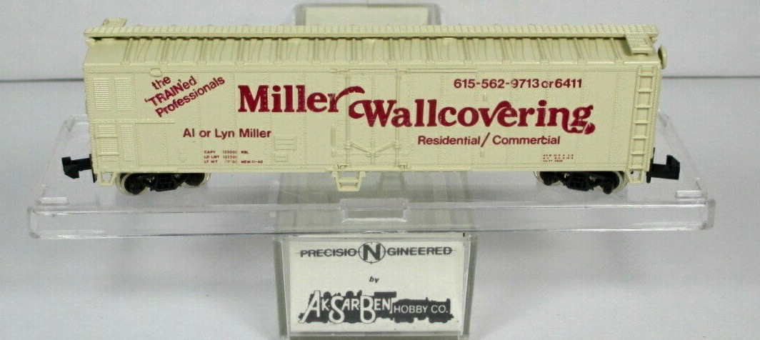 N Scale - Ak-Sar-Ben - PROMO2 - Reefer, 50 Foot, Mechanical - Painted/Lettered