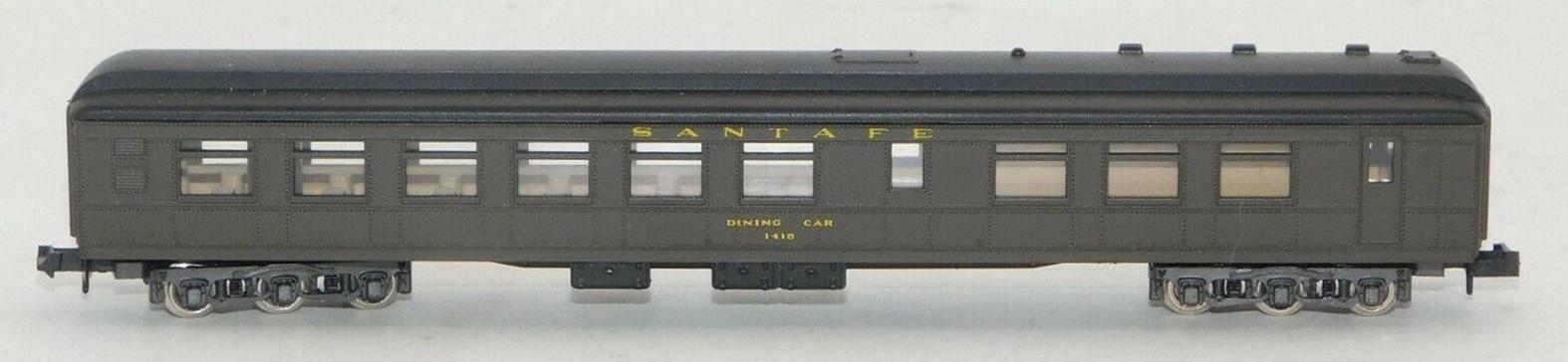 N Scale - Rivarossi - 9538 - Passenger Car, Heavyweight, Diner - Santa Fe - 1418