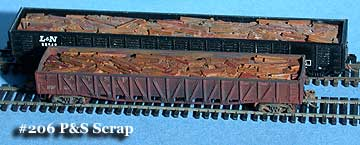 N Scale - Fine N-Scale Products - FNS-206 - Loads. Plate and Structural Scrap - Painted/Unlettered - Plate and Structural Scrap