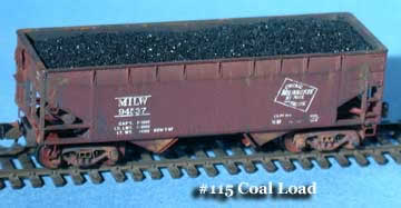 N Scale - Fine N-Scale Products - FNC-113 - Load, Coal - Undecorated - Coal Load