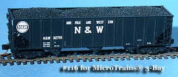 N Scale - Fine N-Scale Products - FNC-116 - Load, Coal - Undecorated - Coal Load