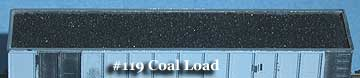 N Scale - Fine N-Scale Products - FNC-119 - Load, Coal - Undecorated - Coal Load