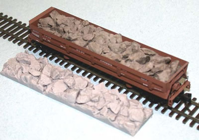 N Scale - Fine N-Scale Products - FNC-123 - Load, Rocks - Undecorated - Rock Load