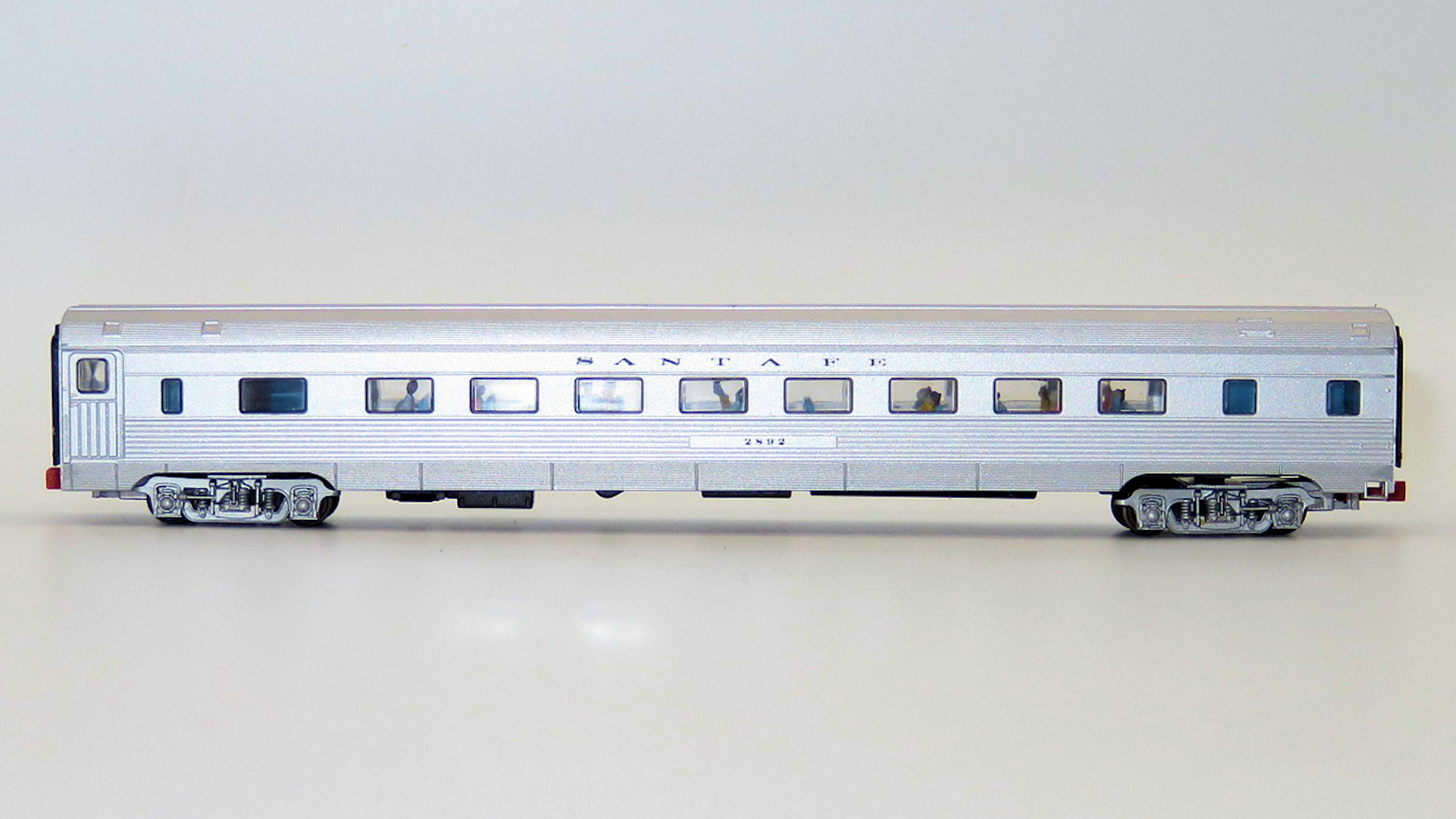 N Scale - Con-Cor - 0001-420101(4) - Passenger Car, Lightweight, Budd - Santa Fe - 2892