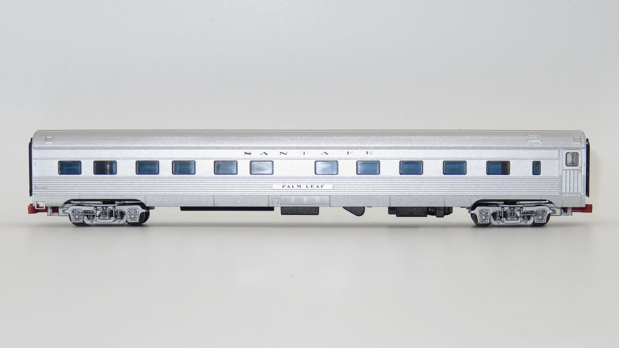 N Scale - Con-Cor - 0001-421101(4) - Passenger Car, Lightweight, Budd, Sleeper 10-6 - Santa Fe - Palm Leaf