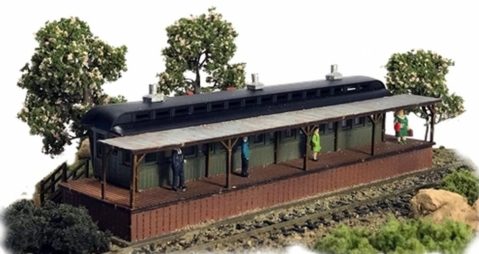 N Scale - N Scale Architect - 10051 - Station - Railroad Structures