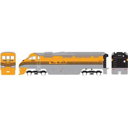 N Scale - Athearn - 15374 - Locomotive, Diesel, EMD F59PHi - Rio Grande - 5800