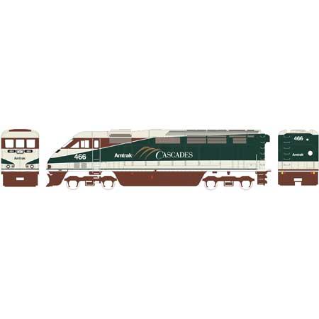 N Scale - Athearn - 15256 - Locomotive, Diesel, EMD F59PHi - Amtrak - 466