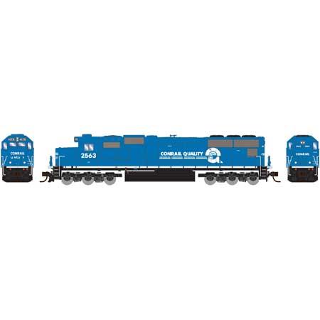 N Scale - Athearn - 3064 - Locomotive, Diesel, EMD SD70 - Conrail - 2563