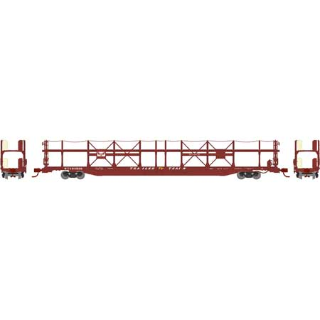 N Scale - Athearn - 14437 - Autorack, Open, Bi-Level - Gulf Mobile & Ohio - 912789