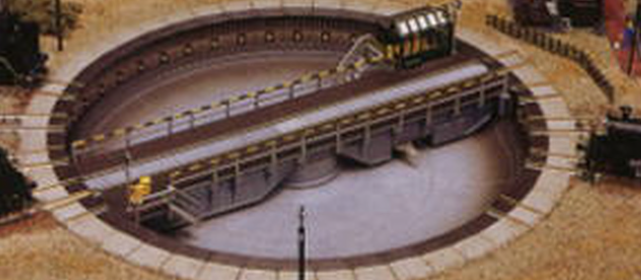 N Scale - Kato - 20-281 - Track, Turntable, Motorized - Track, N Scale