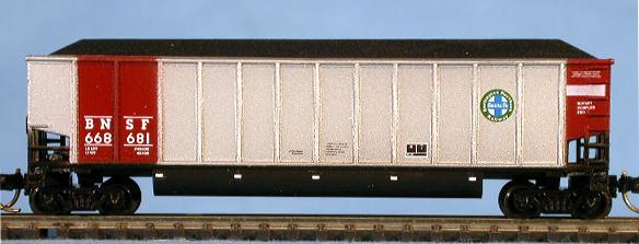 N Scale - LBF Company - 5421 - Gondola, Bathtub, Trinity Rotary  - Burlington Northern Santa Fe - 668681