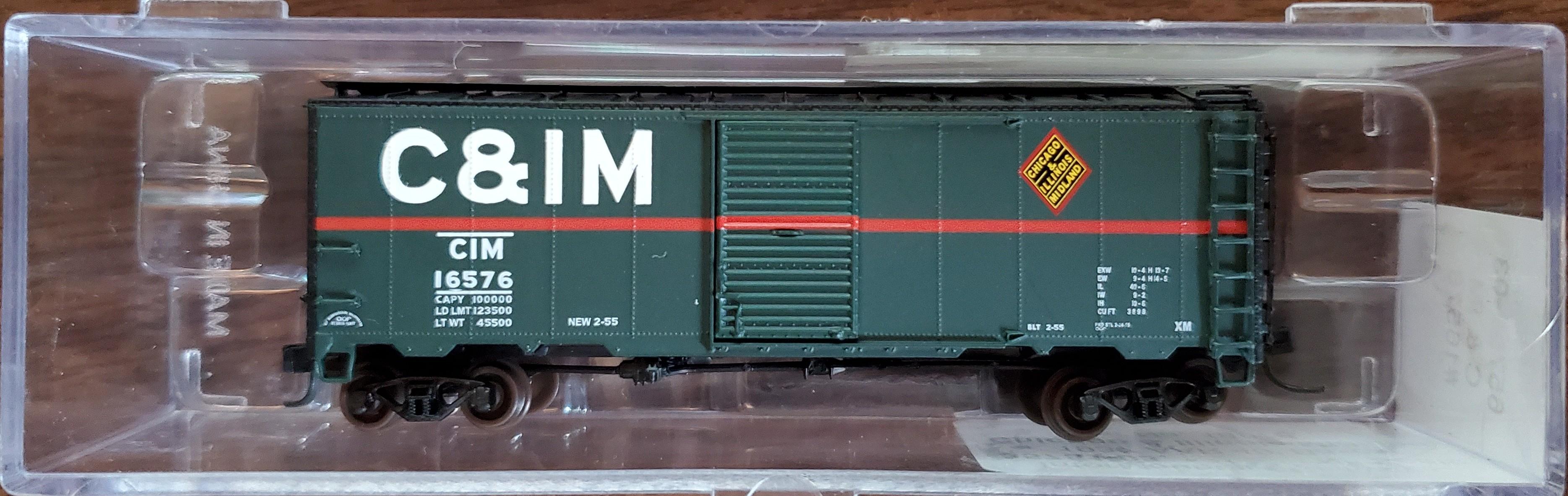 N Scale - InterMountain - 65751-03 - Chicago & Illinois Midland - 16576