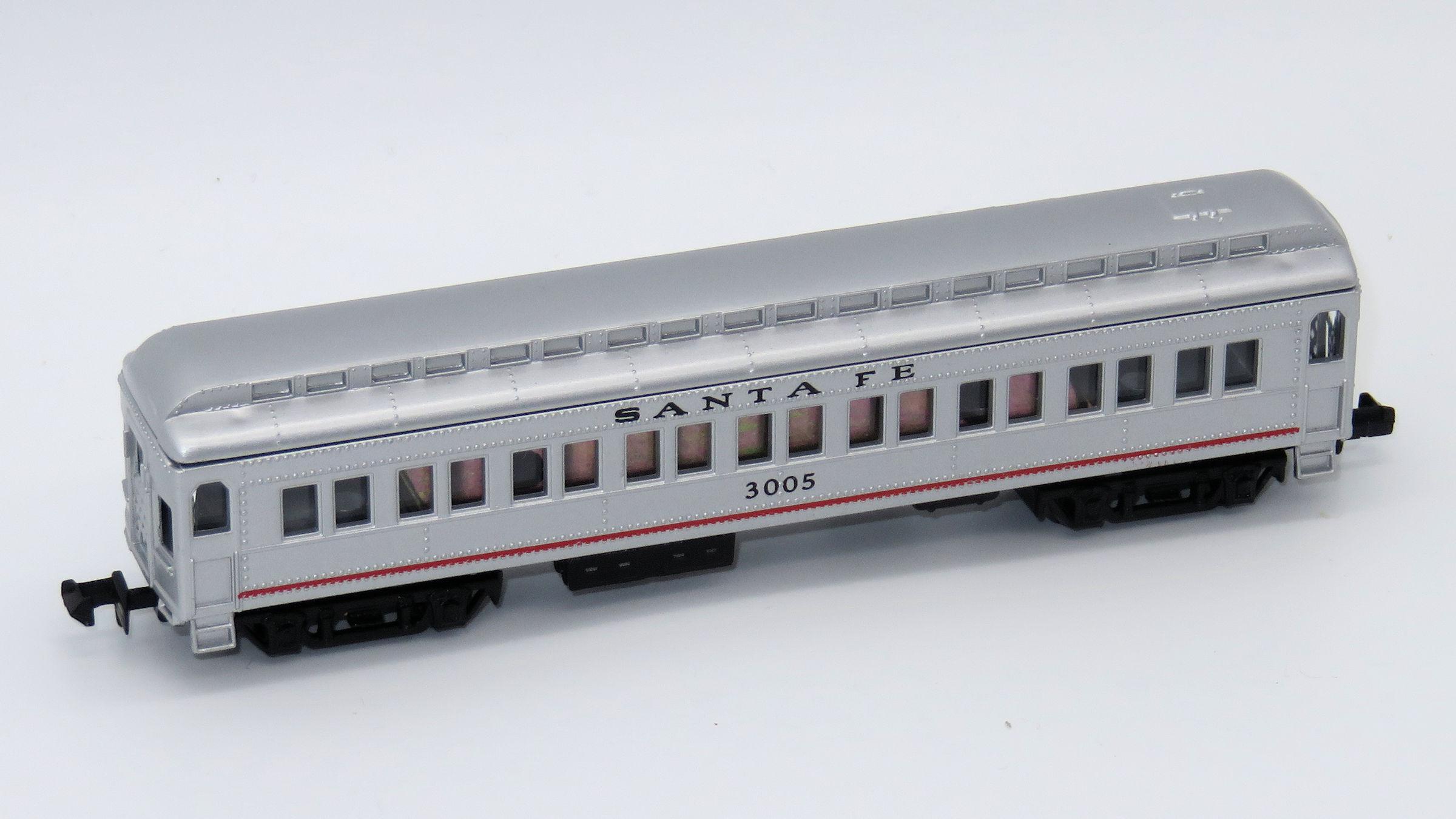 N Scale - Mehano - T772-D - Passenger Car, Heavyweight, ACF Coach - Santa Fe - 3005