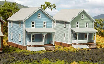 N Scale - Laser-Art - 806 - House - Residential Structures - 2