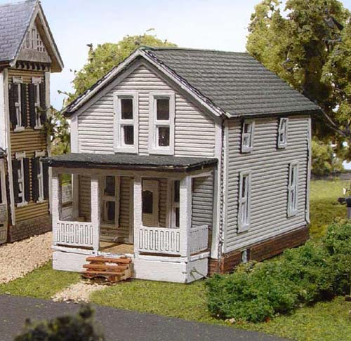 N Scale - Laser-Art - 825 - House - Residential Structures - Finley House