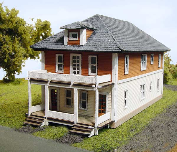 N Scale - Laser-Art - 827 - House - Residential Structures - Beverly House