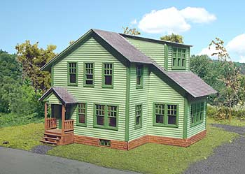 N Scale - Laser-Art - 836 - House - Residential Structures - Avon House