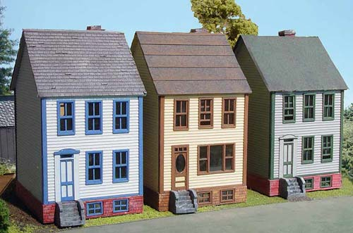 N Scale - Laser-Art - 838 - House - Residential Structures - 3