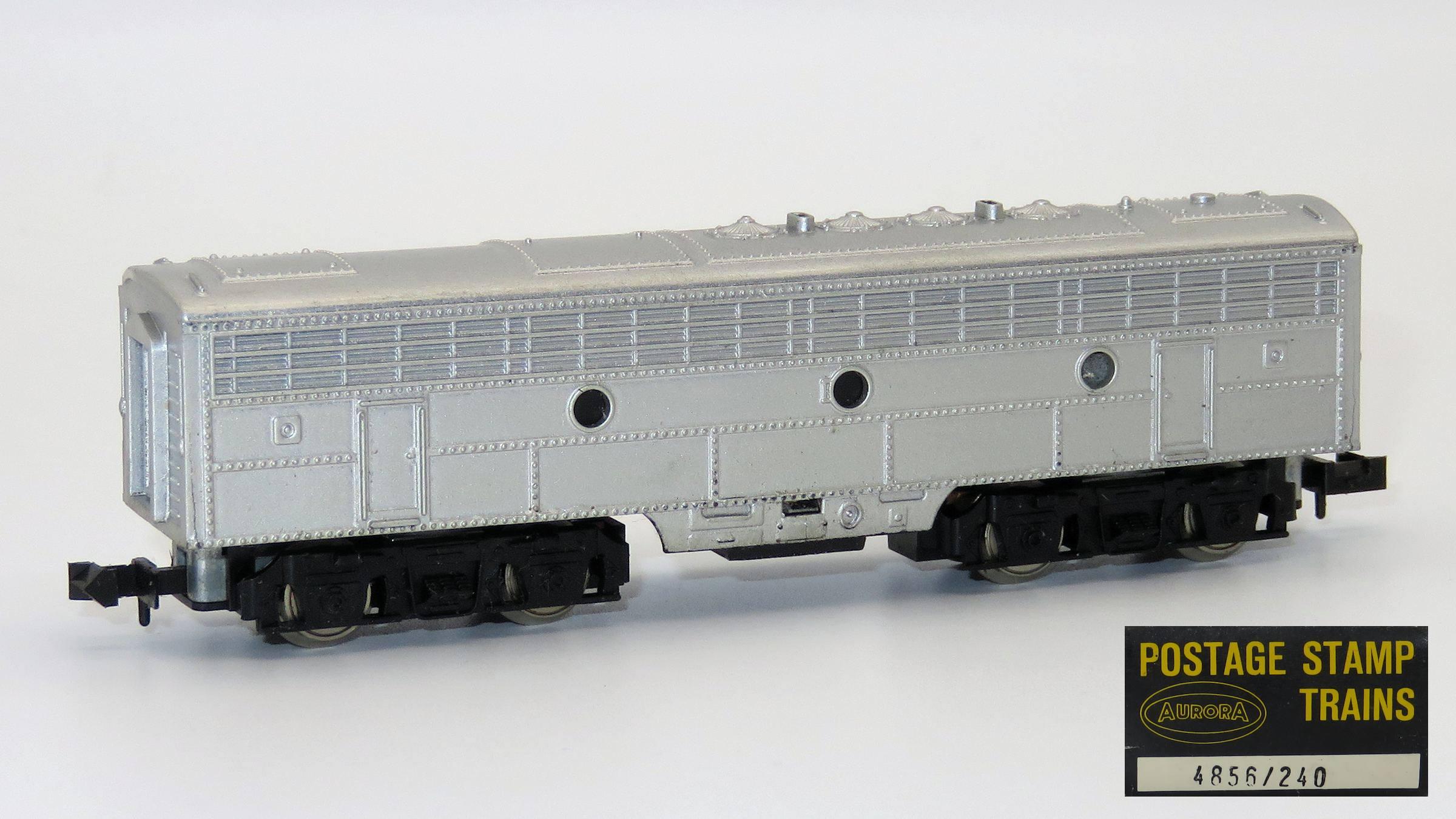N Scale - Aurora Postage Stamp - 4856-Custom - Locomotive, Diesel, EMD F9