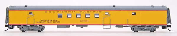N Scale - Centralia Car Shops - CCS7603-02 - Passenger Car, Lightweight, ACF, RPO - Southern Pacific - 5004