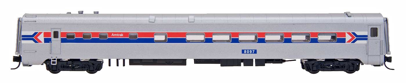 N Scale - Centralia Car Shops - CCS7018-02 - Passenger Car, Lightweight, Diner, Eastern - Amtrak - 8097