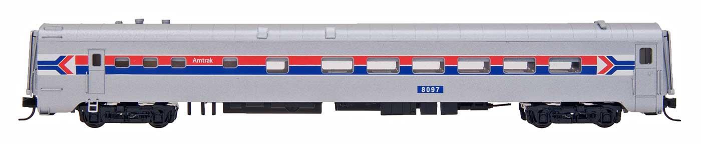 N Scale - Centralia Car Shops - CCS7018-04 - Passenger Car, Lightweight, Diner, Eastern - Amtrak - 8095