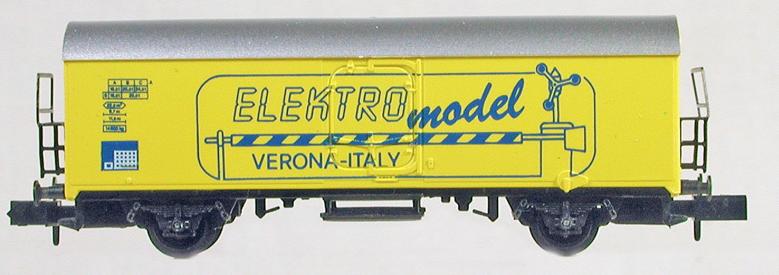 N Scale - Arnold - 4518-62 - Boxcar, 4-Wheel, Round Top 40 Foot - Deutsche Bahn