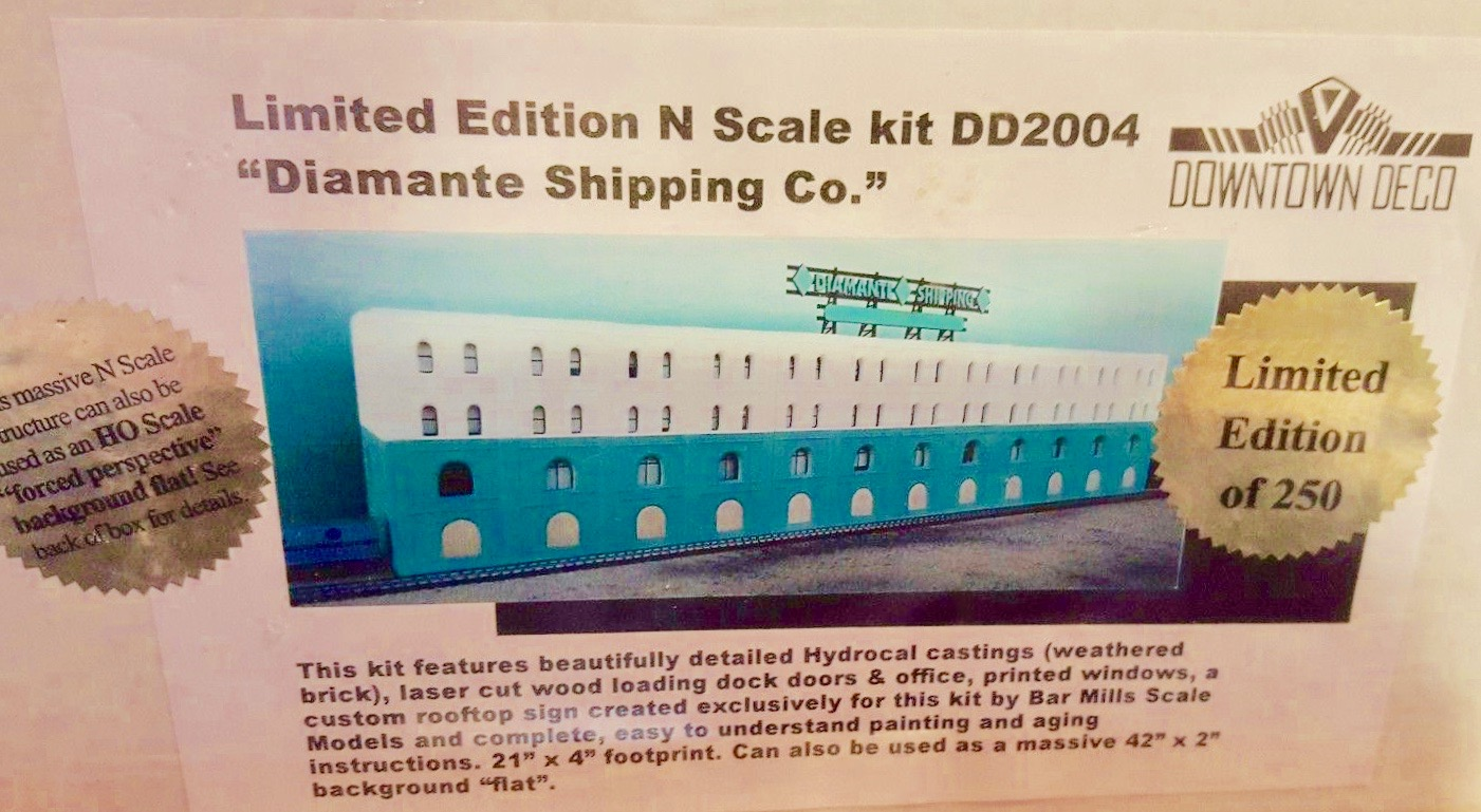N Scale - Downtown Deco - DD2004 - Structure, Building,Factory,Warehouse - Commercial Structures