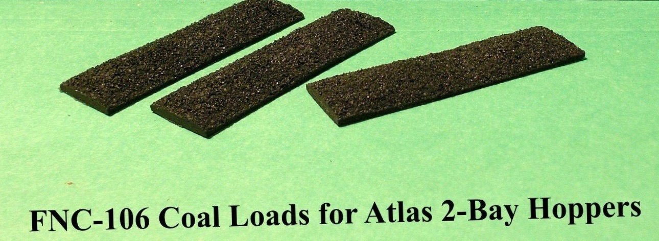 N Scale - Fine N-Scale Products - FNC-106 - Load, Coal - Undecorated - Coal Load