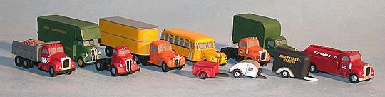 N Scale - Fine N-Scale Products - FNV-319 - Vehicle, Dump Truck - Undecorated -