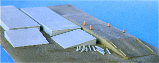 N Scale - Fine N-Scale Products - FNA-3612 - Architectural, Loading Dock - Undecorated - Loading Docks