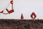 N Scale - JL Innovative - 2043 - Equipment, MOW, Dragline Bucket,Wrecking Ball,Grapple - Undecorated - Dragline Bucket/Wrecking Ball/Grapple
