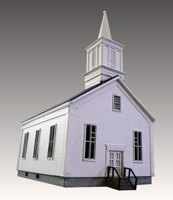 N Scale - Laser-Art - 848 - Structure, Building, Religious, Church - Religious Structures