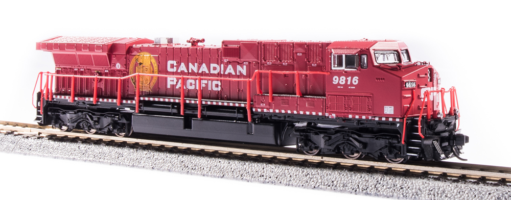 N Scale - Broadway Limited - 6272 - Locomotive, Diesel, GE AC6000CW - Canadian Pacific - 9816