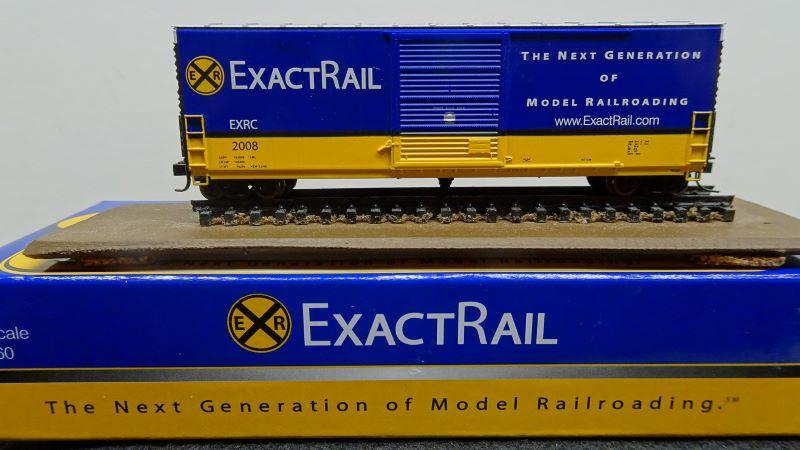 N Scale - ExactRail - EN-50105 - Boxcar, 50 Foot, PC&F 6033 c.f. - ExactRail - 2008