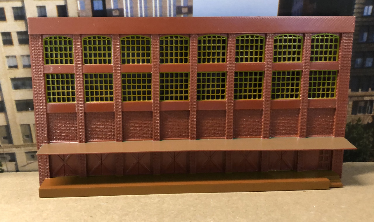 N Scale - Scale Railroad Models - SRM-3071-N - Structure, Building, Commercial, Industrial, Warehouse - Commercial Structures