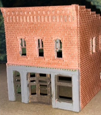 N Scale - Scale Railroad Models - SRM-2035-N - Structure, Building, Commercial,Office - Commercial Structures
