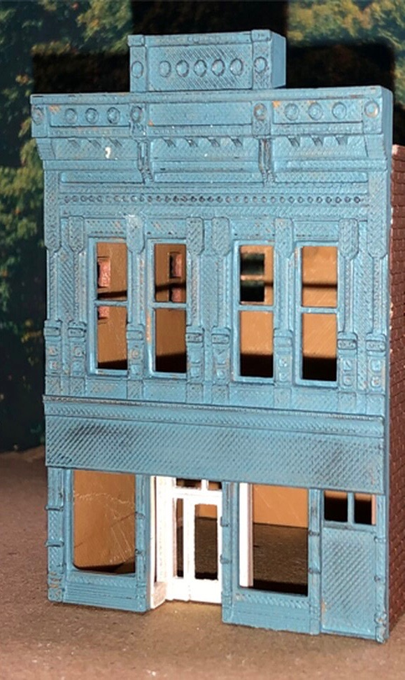 N Scale - Scale Railroad Models - SRM-2031-N - Structure, Building, Commercial, Store - Commercial Structures